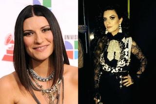 """La trasformazione di Laura Pausini: irriconoscibile con il """"look messicano"""" (FOTO)"""