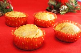 Muffin pere e gorgonzola: la ricetta per i giorni di festa