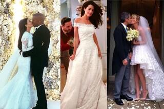 Star in bianco: ecco le spose più belle del 2014 (FOTO)