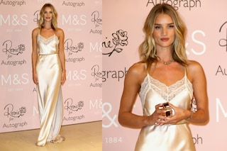 "Rosie Huntington-Whiteley in ligerie: sul red carpet spopola Il look ""da letto"" (FOTO)"