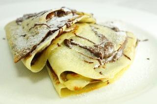 Crepes alla Nutella: la ricetta spiegata passo passo