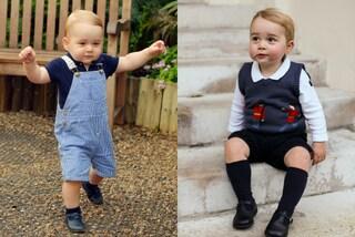 Il principino George è tra gli uomini più eleganti d'Inghilterra (FOTO)