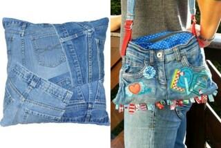 Come riciclare i jeans vecchi: alcune idee creative per recuperarli (FOTO)