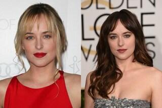 Da Dakota Johnson ad Anastasia Steele: ecco la trasformazione dell'attrice (FOTO)