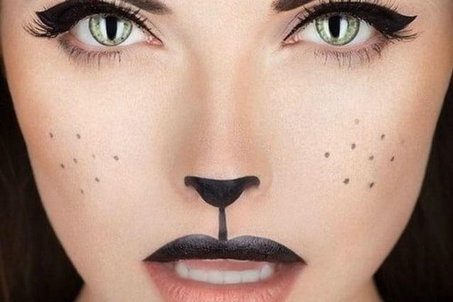 Trucco Halloween Catwoman.Make Up Per Carnevale Come Truccarsi Da Gatta Foto