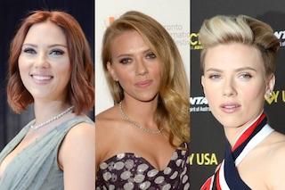 Scarlett Johansson e il nuovo taglio di capelli: ecco tutti i suoi hair style (FOTO)