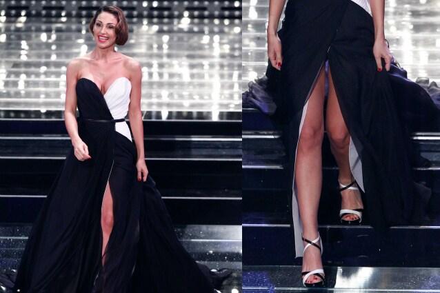 Con Belén Alla Anna Sanremo Spacco foto Infiamma Lo Tatangelo gw7nxqHS5