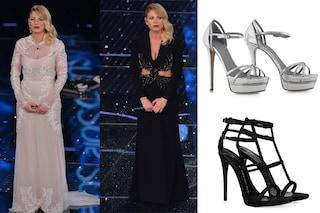 """Emma Marrone a Sanremo 2015: la """"principessa"""" indossa solo tacchi a spillo  (FOTO)"""
