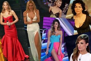 Sanremo: i look di presentatrici e vallette dagli anni '90 ad oggi (FOTO)
