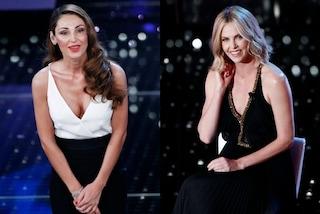 Sanremo: la Tatangelo mostra il seno e Charlize Theron affascina con lo sguardo (FOTO)