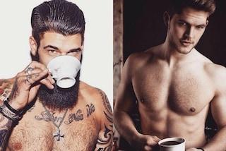 Men&Coffee: muscoli e caffè per la pagina più sexy di Instagram (FOTO)