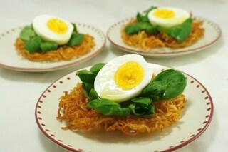 Nidi di patate: la ricetta per preparare i cestini delle feste