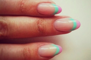 Le unghie della settimana: double french manicure (FOTO)