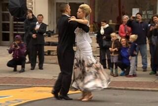 Perde la gamba negli attentati a Boston, oggi supera il traguardo danzando (VIDEO)