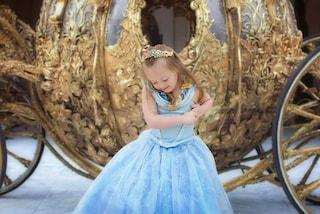 Giselle, la bimba con la sindrome di Down diventa una principessa Disney (FOTO)