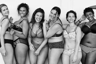 """""""Non siamo angeli"""": curvy in intimo fanno il verso a Victoria's Secret (FOTO)"""