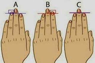 Che personalità hai? Lo rivela la lunghezza delle mani