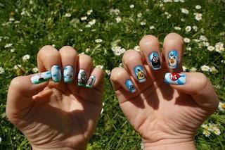 Angry birds e Winnie the Pooh: ecco la nail art ispirata ai cartoni animati (FOTO)