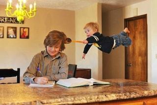 Wil, il bimbo affetto dalla sindrome di Down che vola come un supereroe (FOTO)