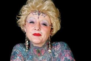 E' morta Isobel Varley, la nonna più tatuata del mondo