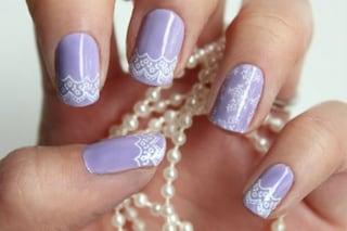 Le unghie della settimana: manicure effetto pizzo (FOTO)