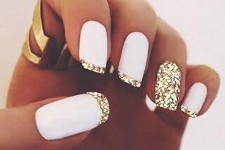 Le unghie della settimana: white manicure per l'estate (FOTO)