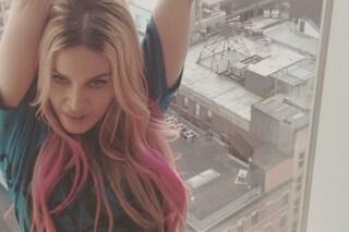 Madonna con i capelli rosa: ecco il nuovo look pop della cantante