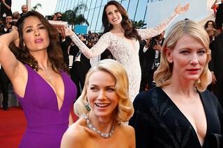 """Belle ad ogni età: a Cannes le donne """"over"""" rubano la scena alle ventenni"""
