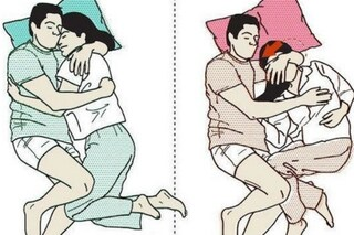 Le posizioni giuste e sbagliate per dormire con il partner (FOTO)