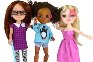 Arrivano le bambole con disabilità: sono più simili alle bambine reali