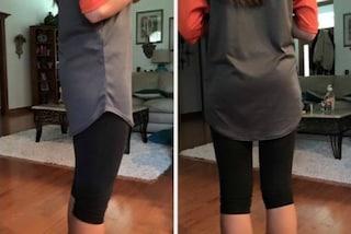 Indossa i leggings e viene cacciata da scuola: il suo outfit è inappropriato?