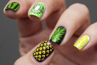 Le unghie della settimana: fruit manicure (FOTO)