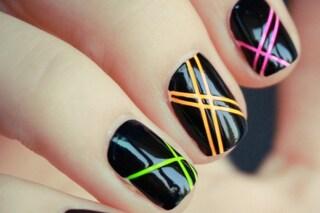 Le unghie della settimana: fluo manicure (FOTO)
