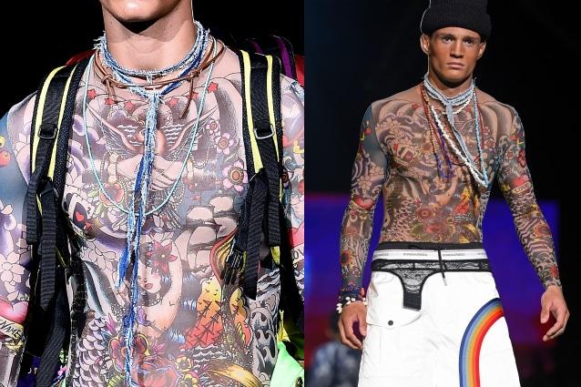 Avete sempre sognato di avere un corpo ricoperto di tatuaggi ma non avete  mai avuto il coraggio di dipingere la pelle con disegni indelebili  Niente  paura  f44e821a1ed