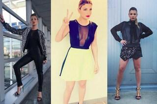 Emma Marrone: tutti i look della cantante ad Amici 2015