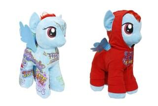 """My Little Pony in versione """"fashion"""": i grandi stilisti vestono i pony alati"""