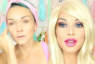 Ecco come diventare Barbie in 90 secondi utilizzando il make-up (VIDEO)