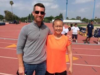 Olivia, la velocista autistica con il cancro al seno che vince l'oro ai Giochi Olimpici