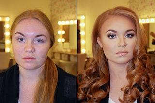 Il potere del make up: le sorprendenti trasformazioni prima e dopo il trucco (FOTO)