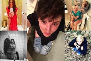 #ToiletSelfie: Arisa su Facebook lancia la moda delle foto in bagno (FOTO)