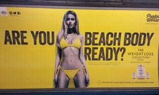 """""""Sei pronta per la prova costume?"""": la pubblicità non è offensiva e irresponsabile"""