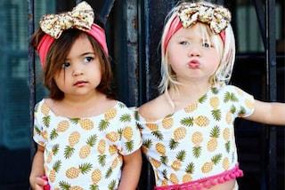 Everleigh ed Ava, le migliori amiche di 2 anni che stanno conquistando il web (FOTO)