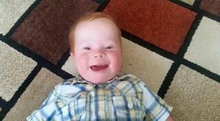 Jack, il bimbo con la sindrome di Down che conquista i social con un sorriso