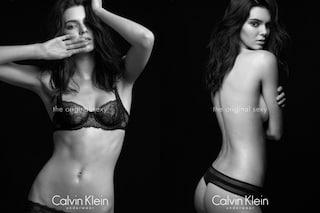 Kendall Jenner in versione sexy: la top si spoglia per Calvin Klein (FOTO)
