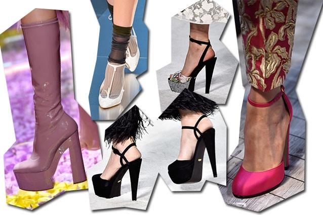 da sinistra Atelier Versace, Maison Margiela, Giambattista Valli, Schiaparelli
