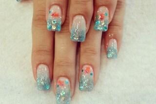 Le unghie della settimana: aquarium nails (FOTO)