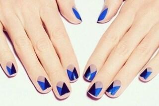 Le unghie della settimana: geometric nails (FOTO)