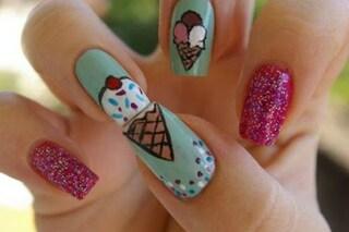 Le unghie della settimana: ice cream manicure (FOTO)