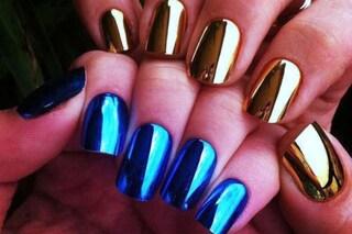 Le unghie della settimana: mirror nails (FOTO)