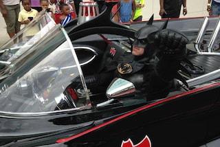E' morto in un incidente d'auto il sosia di Batman: ha donato il sorriso ai bimbi malati
